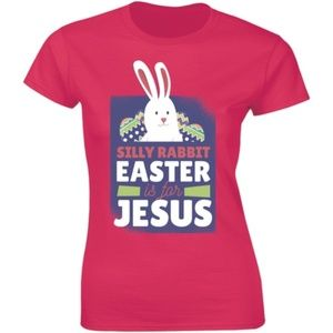 Silly Rabbit Easter Is For Jesus Easter T-shirt